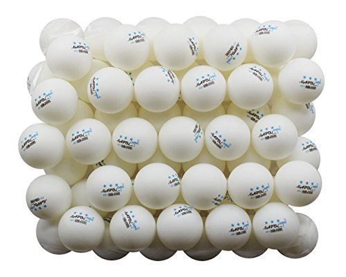 MAPOL 50 White 3-Star Table Tennis Balls Premium Training Ping Pong Balls