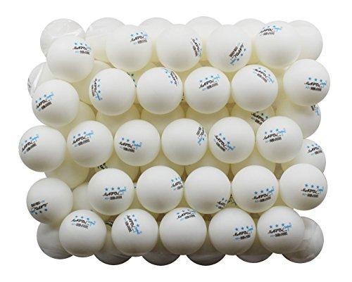 MAPOL 50 White 3-Star Table Tennis Balls Premium...