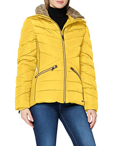 TOM TAILOR Damen Puffer Jacke, 24270-california Sand Yell, L