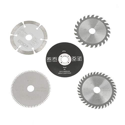 Diamètre Intérieur de Lame de Scie Circulaire de Dents de Carbure de 15mm mini de 85mm pour l'Outil de Coupe