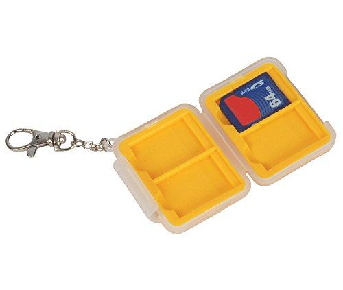 Bilora SD Card Safe, Weiß, Gelb, 165