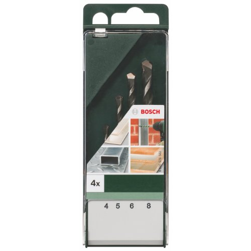 Bosch DIY multifunctionele boor 4tlg. Set (Ø 4-8 mm)