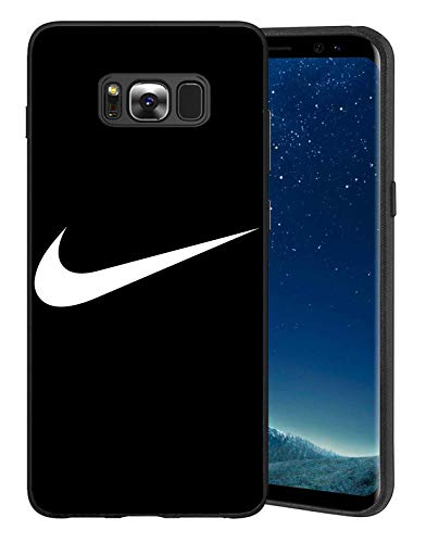 Conrad Coleri Just Do It Logo Schutzhülle Samsung Galaxy S8 Hülles, Nik Logo Hülle Handyhülle für Samsung Galaxy S8, Hülle Cover für Samsung Galaxy S8, Schwarz