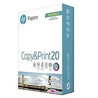HP 8.5x11 プリンター用紙 コピー&プリント 20ポンド 1バルクパック 750枚 明るさ 92 米国製 FSC認定 200030R