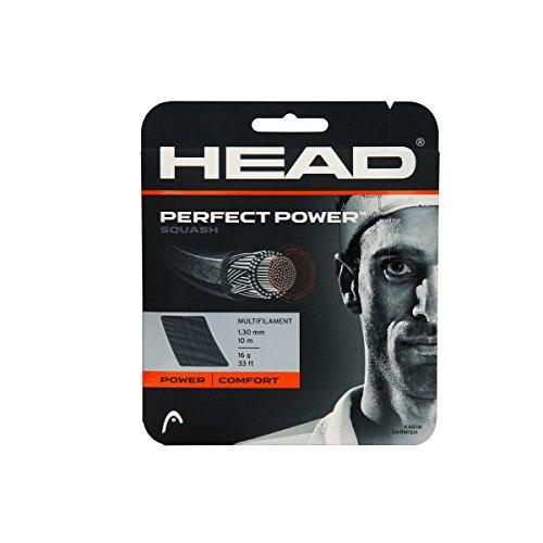 Head Perfect Power Squash String 16L (Black)