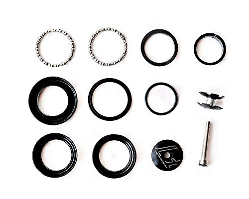 YOU+ 44mm Heavy Duty Headset Top Cap Bearings, Threadless Stem Tapered Sealed BMX Bearing Nuts for Mountain MTB Bike