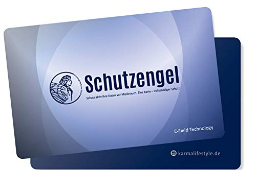 RFID Blocker Karte für Geldbörse – NFC Blocker für Kreditkarten - RFID Schutz für Geldbeutel - Schutz alle Karten im Geldbeutel für alle Kontaktlose Bankkarten und Personalausweis