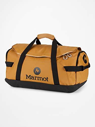 Marmot Long Hauler Duffel M Robuste Reisetasche, Sporttasche, Weekender, 50l Fassungsvermögen, Scotch/Black, ONE