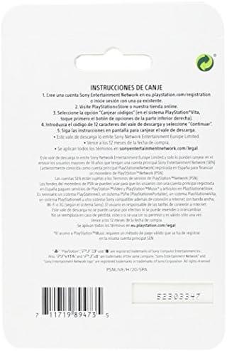 TARJETA PSN CARD 25€ | Código de descarga PSN - Cuenta española: Amazon.es: Videojuegos