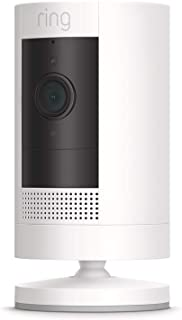 All-new Ring Stick Up Cam Battery HD security camera with two-way talk, Works with Alexa