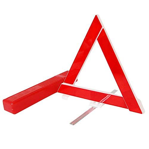 d'avertissement Triangle Sécurité hautement réfléchissante Pliable Réflecteur Réflecteur Réfléchissant Triangle Signe D'Avertissement pour Voiture Route Dépannage Réparations Direction Le Trafic 3PCS