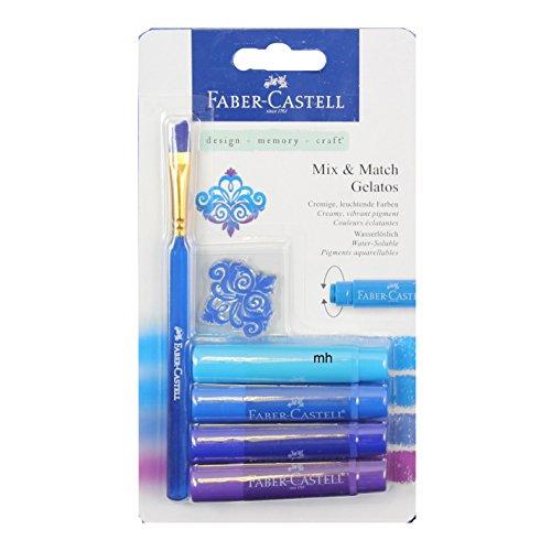 Faber Castell Gelatos Mix et Match Crayon – bleu