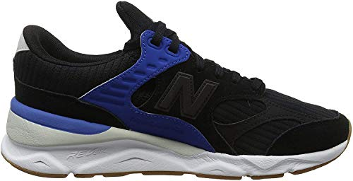 New Balance X-90 h, Zapatillas para Hombre, Negro (Black/Rain Cloud/Classic Blue BK), 42 EU