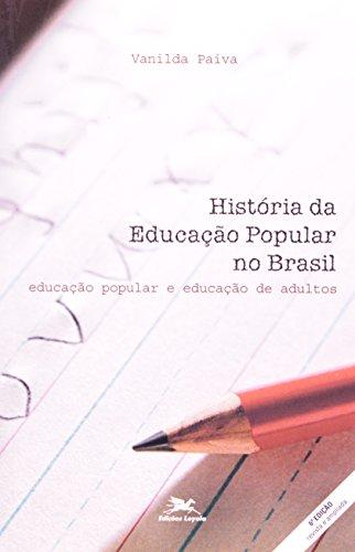 História da educação popular no Brasil: Educação popular e educação de adultos