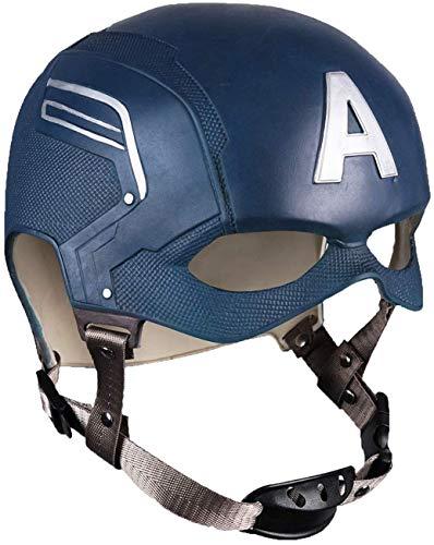 Cosplay Helmet Latex Movie Mask Avengers Halloween Props Blue