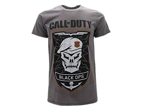 Call of Duty Advance Warfare 4 Black Ops IIII 4 Calavera gris oficial gris M