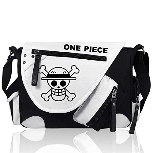 Anime ONE PIECE Cosplay Mochila Messenger Bag Bolsa de Hombro Bolso Bandolera Mensajero Bolsa