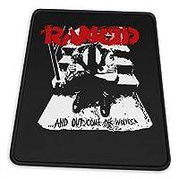 マウスパッドrancid Band ランシド 滑り止め ゲーミング 耐摩耗性 高耐久性 疲労低減 水洗い ファッション オフィス/ゲーム/パソコンなどに適用 (4サイズを選択可能)