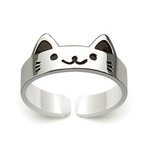 HANFLY Cat ring 925 Sterling silver…