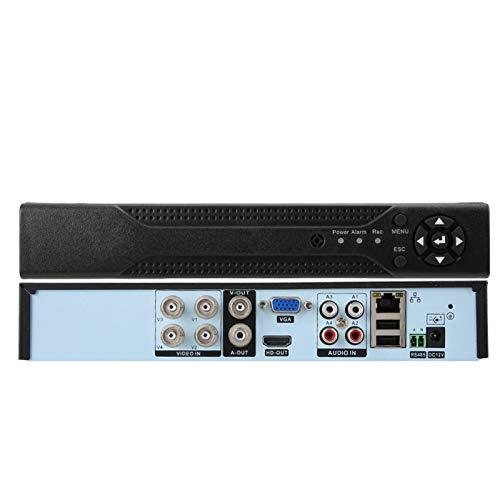DAUERHAFT Grabador de vídeo en Red DVR NVR de 16 Canales, para Salida HDMI Full HD, para(100-240V European Standard)