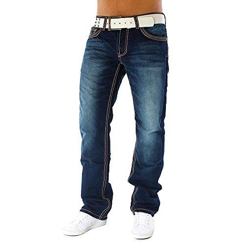 ArizonaShopping Herren Jeans Alessandro ID1091 Straight Fit (Gerades Bein), Größe Jeans:W29