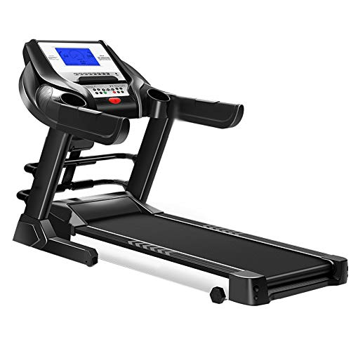 Read About Angelica 5 Inch Display Screen Electric Foldable Mini Treadmill Sit-up Function Gradient ...