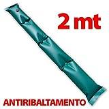 Zavattishop Tubolare 2MT Antivento antiribaltamento salsicciotto per Copertura Invernale Piscina