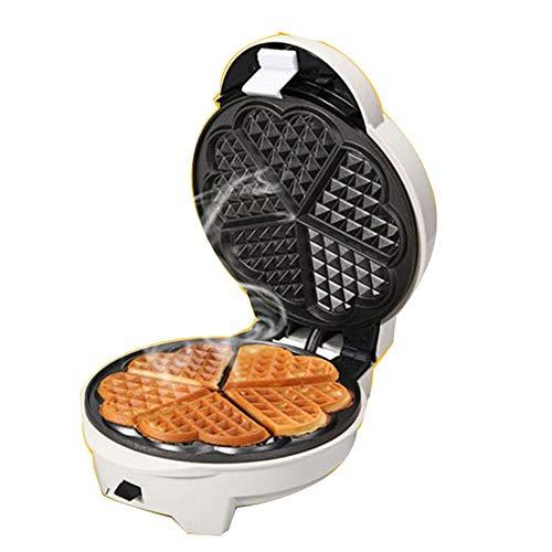 Multifunctionele wafelijzer, Electric Cake Maker, Anti-aanbaklaag, Deep kookplaten, Dubbelzijdig Verwarming, automatische bakken, for pannenkoeken koekjes, wafels of Snacks