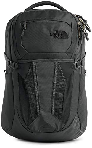 The North Face Recon Laptop Backpack, Asphalt Grey/Silver Reflective, One Size