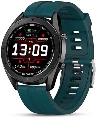 Reloj Inteligente Ip68 Impermeable Ronda Hd Pantalla ECG Detección Diales Cambiables Smartwatch Fitness Tracker Hombres desgaste diario E-A