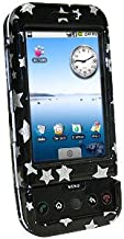 Amzer Stars Snap-On Crystal Hard Case for T-Mobile G1/HTC Dream - Black