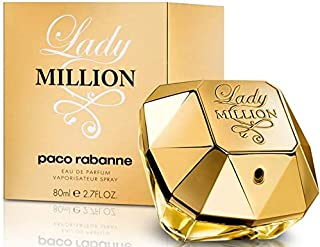 Lady Million by Paco Rabanne Eau De Parfum Spray 2.7 Fl Oz (Women), Pack of 1
