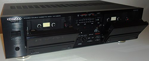 Best Price! Kenwood KX-W6010 Auto Reverse Recordable Stereo Double Cassette Tape Recording Deck – Japan