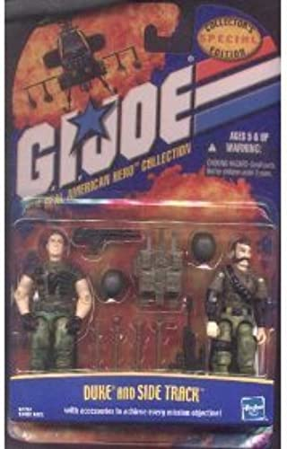 Gi Joe 3 3 4 Duke & Side Track Special Collector's Edition by G. I. Joe