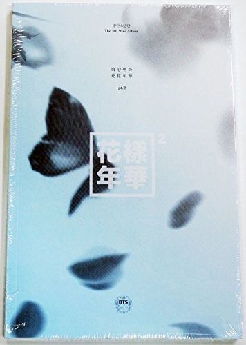 BigHit Entertainment BTS - In The Mood for Love Pt.2 [Blue Ver.] 2Cd+Extra Photocards Set