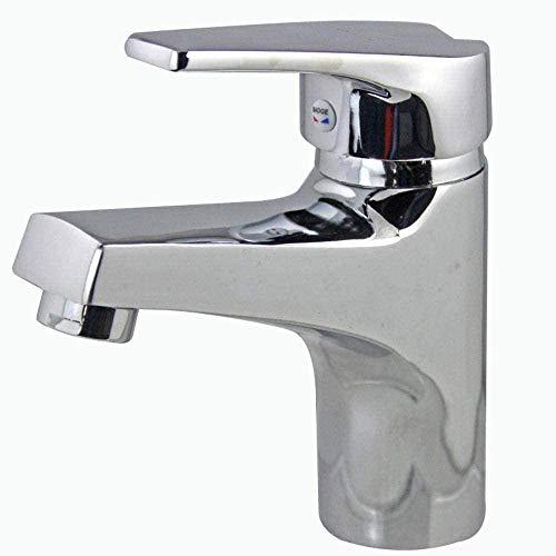 Grifo de fregadero DIY agua fría y caliente grifo de fregadero de cocina grifo de fregadero de baño Material de aleación de zinc adecuado para baño de cocina