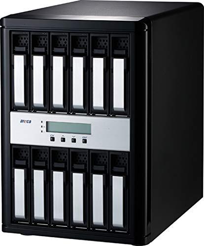 Areca ARC-8050T3U-12 (12 Bay Thunderbolt 3   USB 3.2 Gen 2 RAID Enclosure)