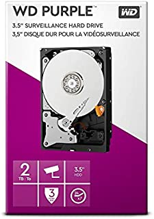"WD lila 2 TB övervakning hårddisk - Intellipower 3,5"" SATA 6 Gb/s 64 MB Cache 5400 rpm"
