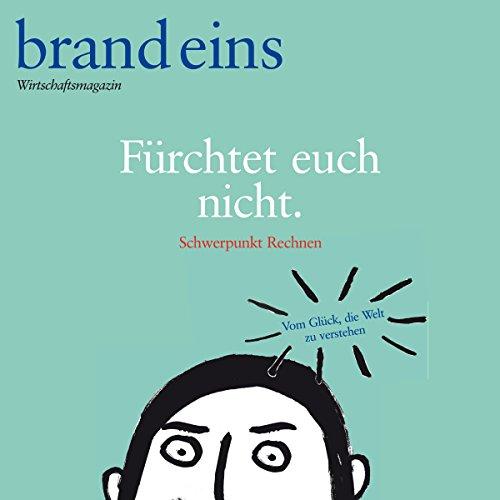 brand eins audio: Rechnen audiobook cover art