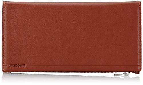 Samsonite portemonnee Rhode Island Slg Doc 12cc + cheque ritssluiting rood (POMPEIAN RED) 45160-1708