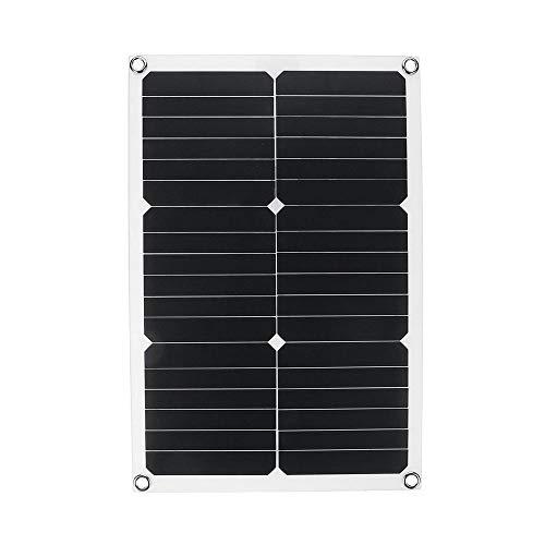GNY Cargador Solar Cargador de batería de Panel Solar al Aire Libre 30W 5V / 12V / 18V Célula Solar portátil para teléfono RV Barcos de automóviles Cargador de yate Cigarette Encendedor
