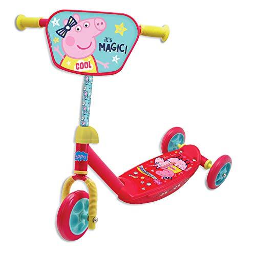 Rocco 5004-50184 Giocattoli Monopattino 3 Ruote Peppa Pig, Taglia unica