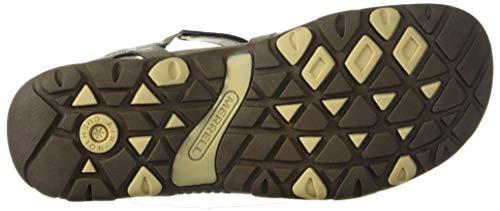 Merrell Women's Sandspur Rose LTR Sandal, Brindle, 9
