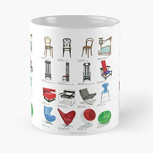Thonet Chair History Arm and No Crafts Furniture Architect Arts 14 Michael Art Design – Das Beste 11 oz Kaffeetasse aus Marmor-Keramik weiß I