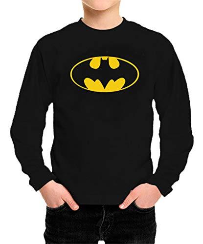 Camiseta Manga Larga de NIÑOS Batman Robin Joker DC Gotham 001 5-6 años