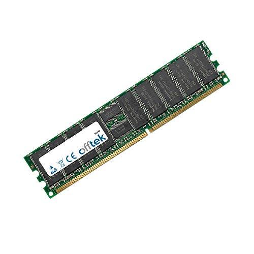 2GB RAM Memory 184 Pin Dimm - 2.6V - DDR - PC3200 (400Mhz) - ECC Registered - OFFTEK