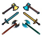 6-pack, Pixel Hatches, Swords, and Axes 2 of each