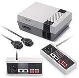 Lopto Plug Play Classic Mini Console de jeu rétro AV sortie 8 bits vidéo intégrée 620 jeux avec 2 contrôleurs