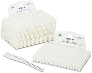 GBC ProClick Easy-Editing Binding Spines Medium 2515701 Pronto P3000 Spine Cassette 80 Sheet Capacity 100 Spines Per Box Black