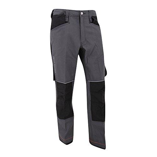 Helly Hansen - Pantalones de construccion Modelo Chelsea Hombre caballero (C60/Gris oscuro/Negro)